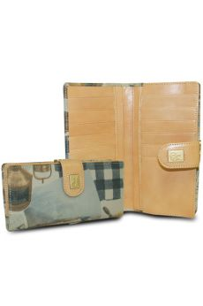 Bon Voyage - Long Wallet w/ Coin Clasp