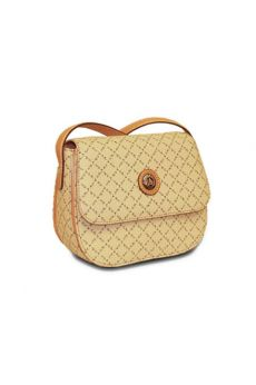 Beige - Tri-Compartment Bag