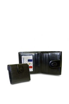 Red-Black - Black Wallet