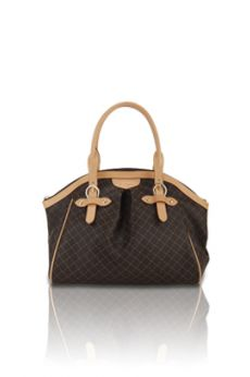 Ruched Satchel With Buckle