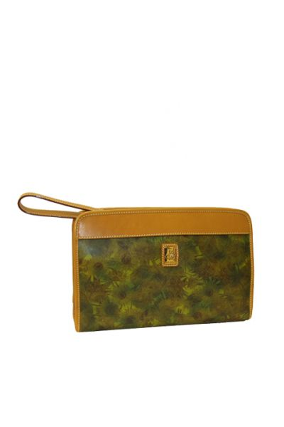Sunflower - Travel Clutch