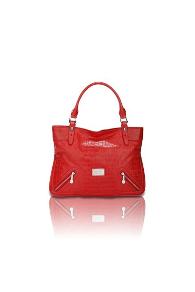 Croc Tote (Red)