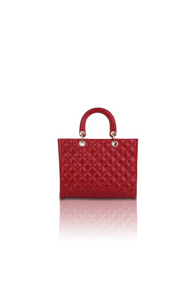 The Zoey Tote (Red)