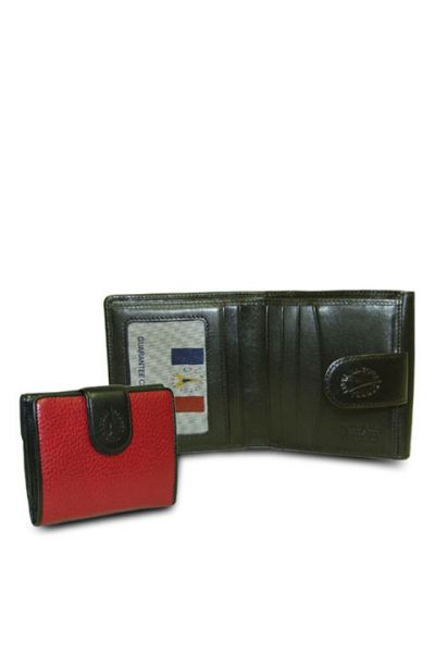 Red-Black - Red Wallet