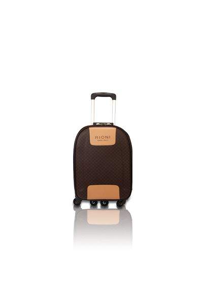 42296456620f 360 Medium Luggage - Signature (brown) - Collections - RIONI ®