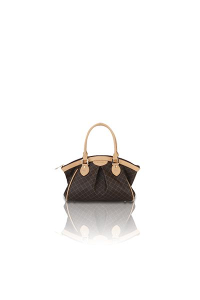 Ruched Satchel