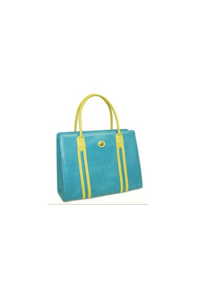Turquoise - Tall Tote