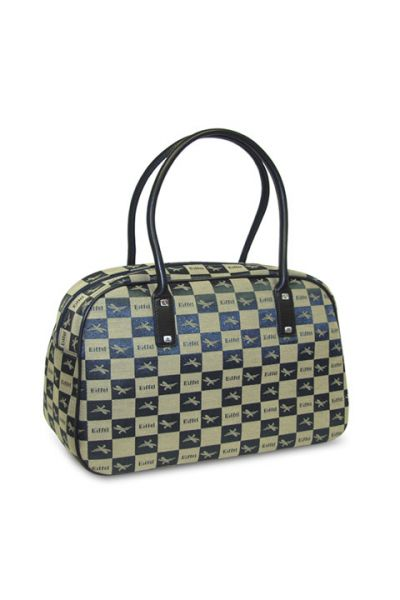 Checkers - Round Handle Bag