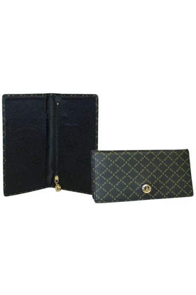 Black - Checkbook Holder
