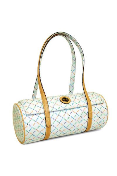 Rainbow - Barrel Handbag