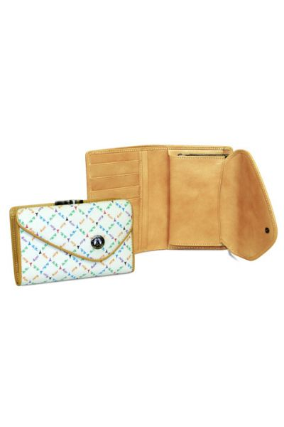 Rainbow - Medium Wallet w/ Clasp