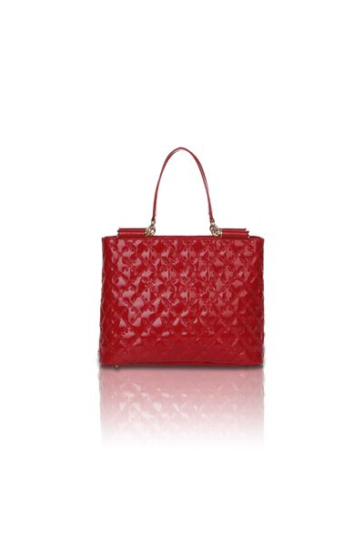 Lindsay Shoulder Tote (Red)