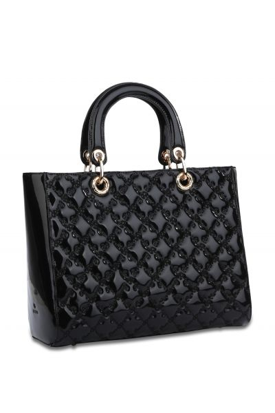 The Zoey Tote (Black)