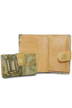 Bon Voyage - Medium Wallet w/ Coin Clasp