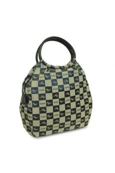 Checkers - Round Handle Tote