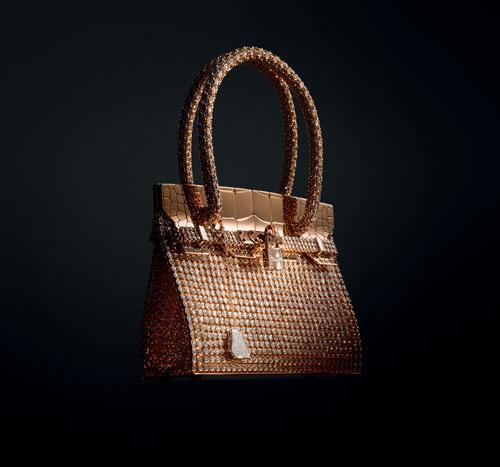 Accessorize Like the One Percent: The Pure Gold Kelly Bag