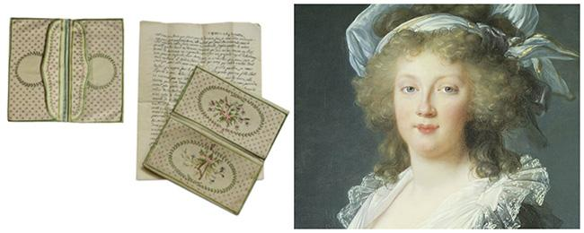 Historical Handbags: The Marie Antoinette Silk Embroidered Purse