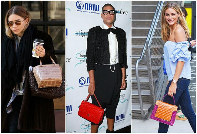 Celebrities are Rocking Bags with Exotic Skins — Yea or Nay?