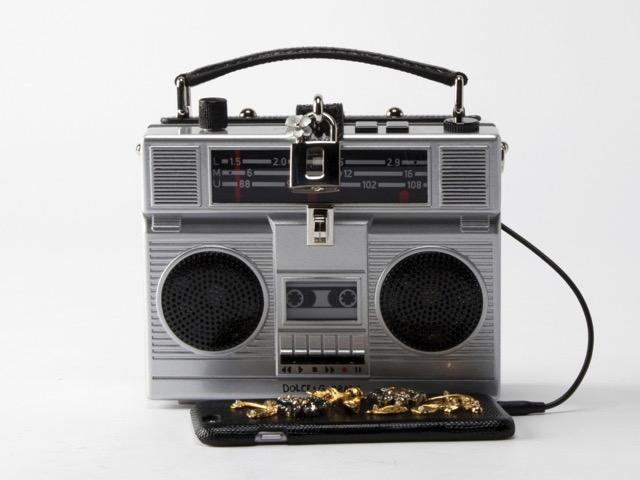 The 80s are Back: Dolce & Gabbana's Boombox Bag