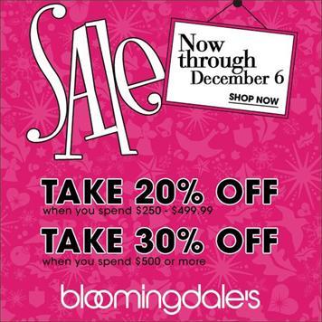 Bloomingdale's Sale!