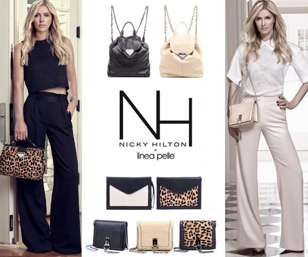 The Nicky Hilton x Linea Pelle Capsule Collection