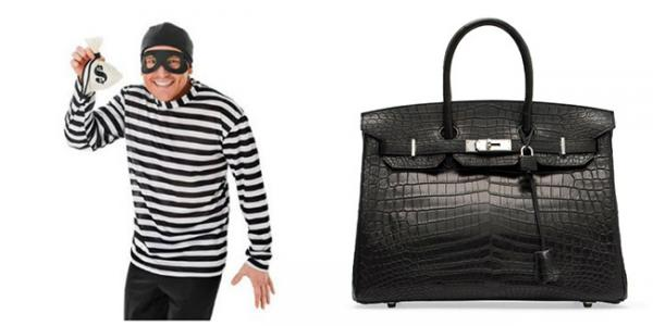 High-End Handbags: A New Kind of High-Stakes Heist
