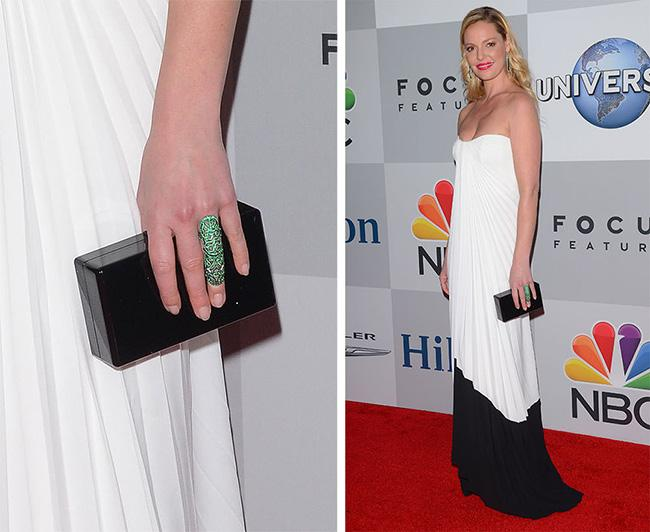 Minimalist Occasional Bags at the 2015 Golden Globes