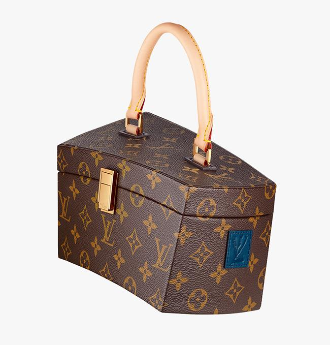Celebrity Bags: The Louis Vuitton Gehry Twisted Box