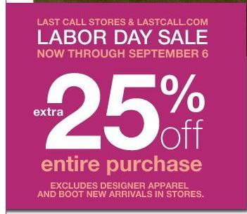 Get Ready for Labor day Sales