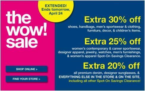The Wow Sale