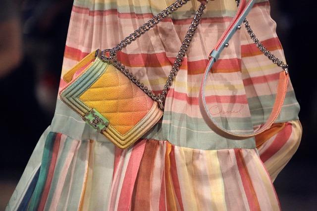 True Prep: Chanel Launches Rainbow-Hued Boy Bag!