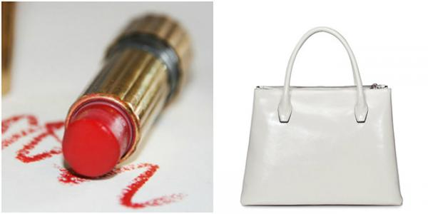 The Lipstick Stain: The Archenemy of the Handbag Lover