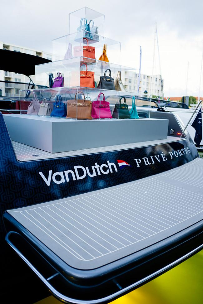 Boating While Bag Shopping: The World's First Pop-Up Yacht!