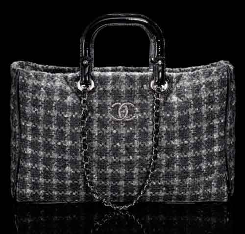 Chanel's Going for the Tweed Look