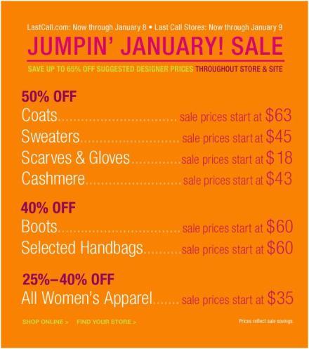 Jump into January