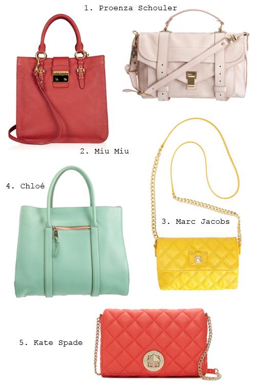 Spring 2012 Handbag Picks