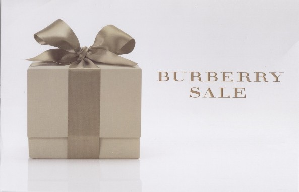 What?! A Sale at Burberry?!?