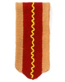 Jack Spade Hot Dog Scarf