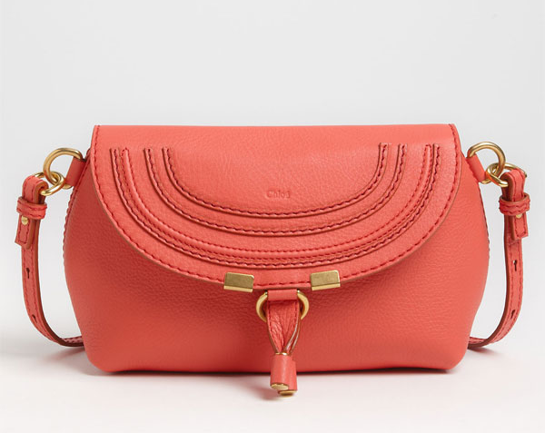 Chloé's Marcie Calfskin Leather Crossbody Bag