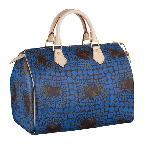 Louis Vuitton Yayoi Kusama Collection Town Speedy