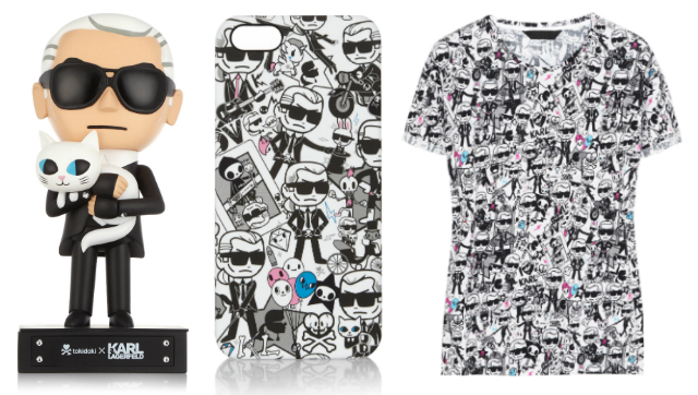 The Limited Edition Tokidoki x Karl Lagerfield Collection