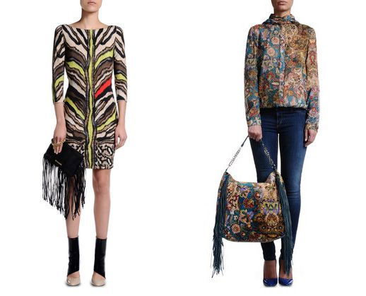 Top Fall 2014 - Mixing it Up at Just Cavalli