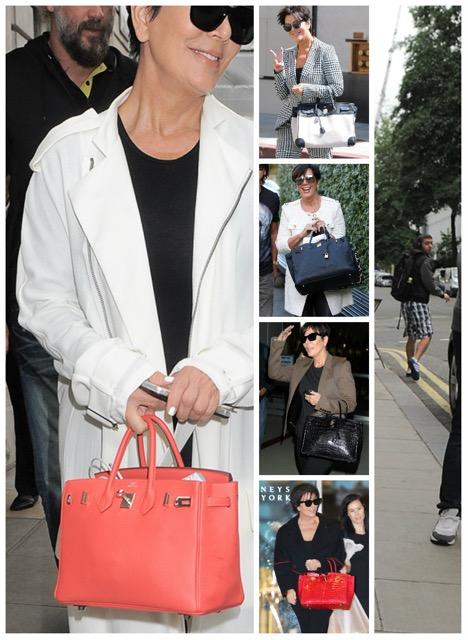 Kris Jenner's Birkin Collection