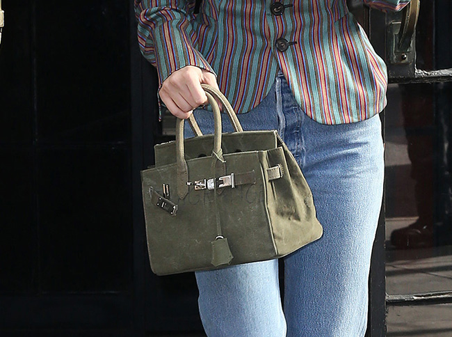 Bella Hadid's Faux Birkin Bag; Political Statement or Stylist Snafu?