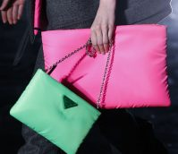 Feeling Down? The Prada Fluo Collection Will Brighten Your Outlook