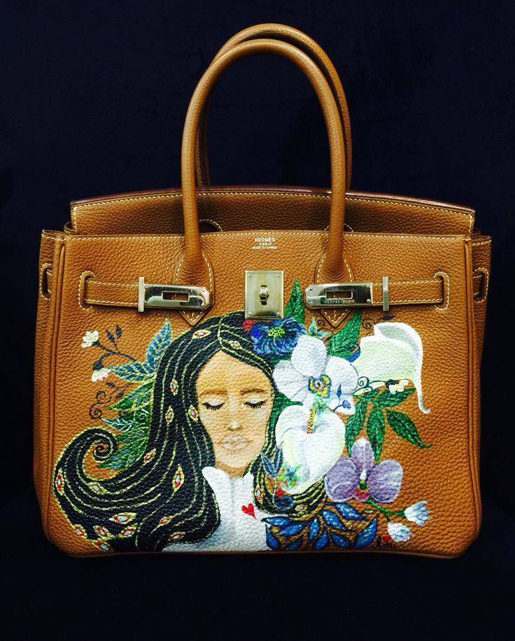 The Crazy Rich Paints on Birkins?