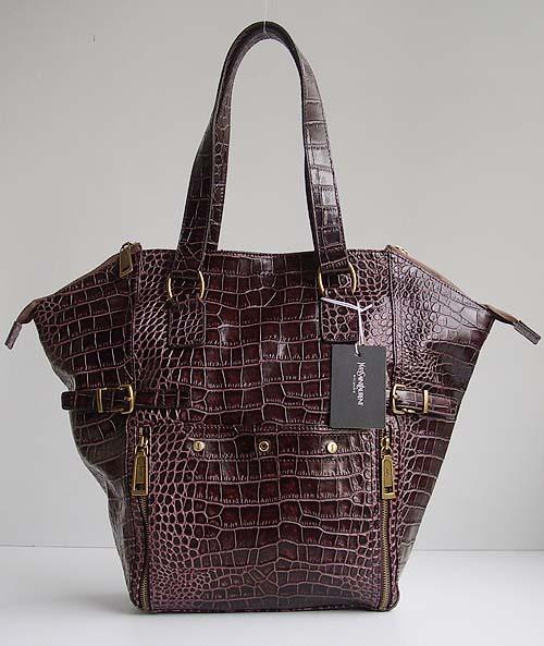 YSL Croc Bag
