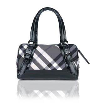 Black Burberry Designer Handbag