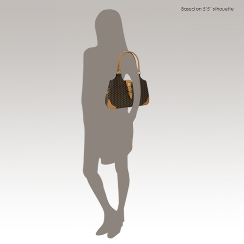 RIONI Handbag Model Silhouette