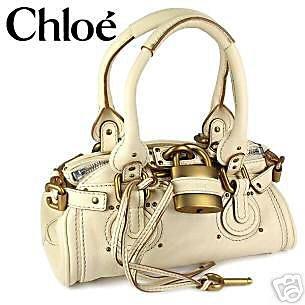 Chloe Padlock Bag